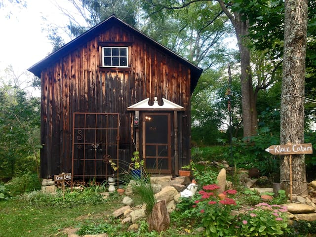 Fisherman's Shack: Eco-Artsy Cabin - Woodward