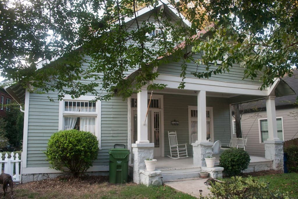 Charming Craftsman Home In Candler Park Edgewood
