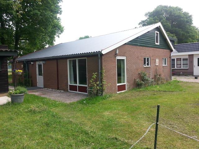 Gastenverblijf direct bij de bossen v.d. Veluwe - Emst - Apartamento