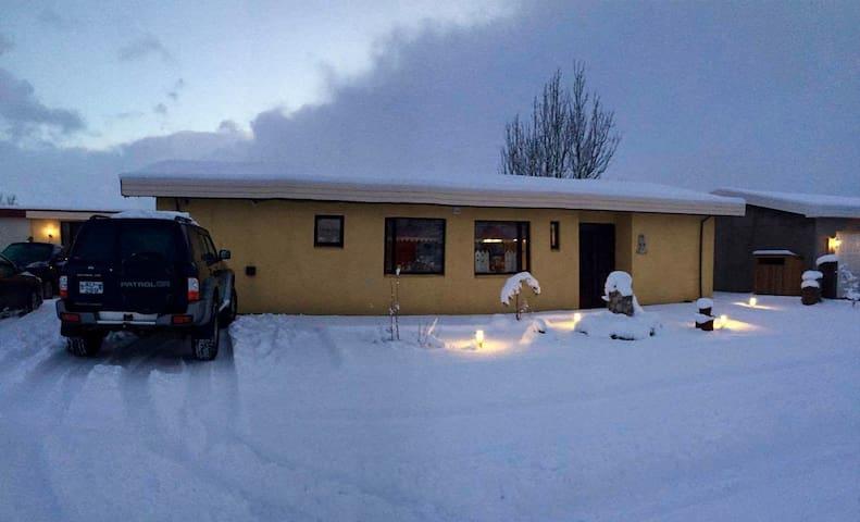A lovely house in Hvolsvöllur - Hvolsvöllur