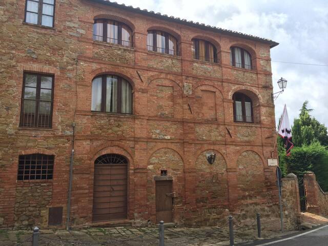 Castle of the Grand Duke - Glicine - Montisi - Appartement