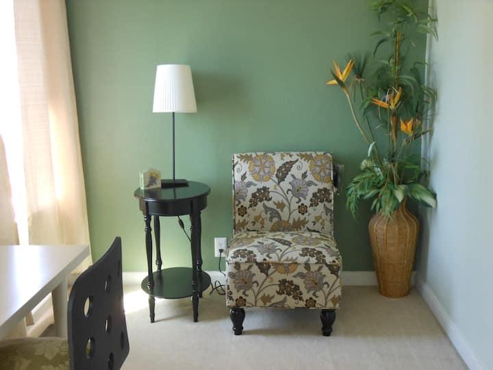 Bright comfortable room