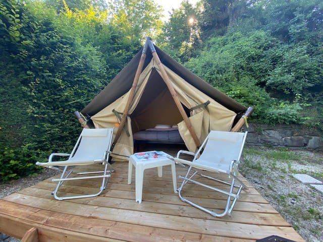 Tente Moorea - Lit double idéal cyclotouristes!