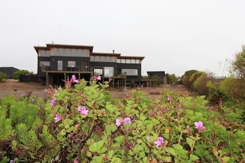 Casa Los BoldosTunquen, amplias terrazas y vista