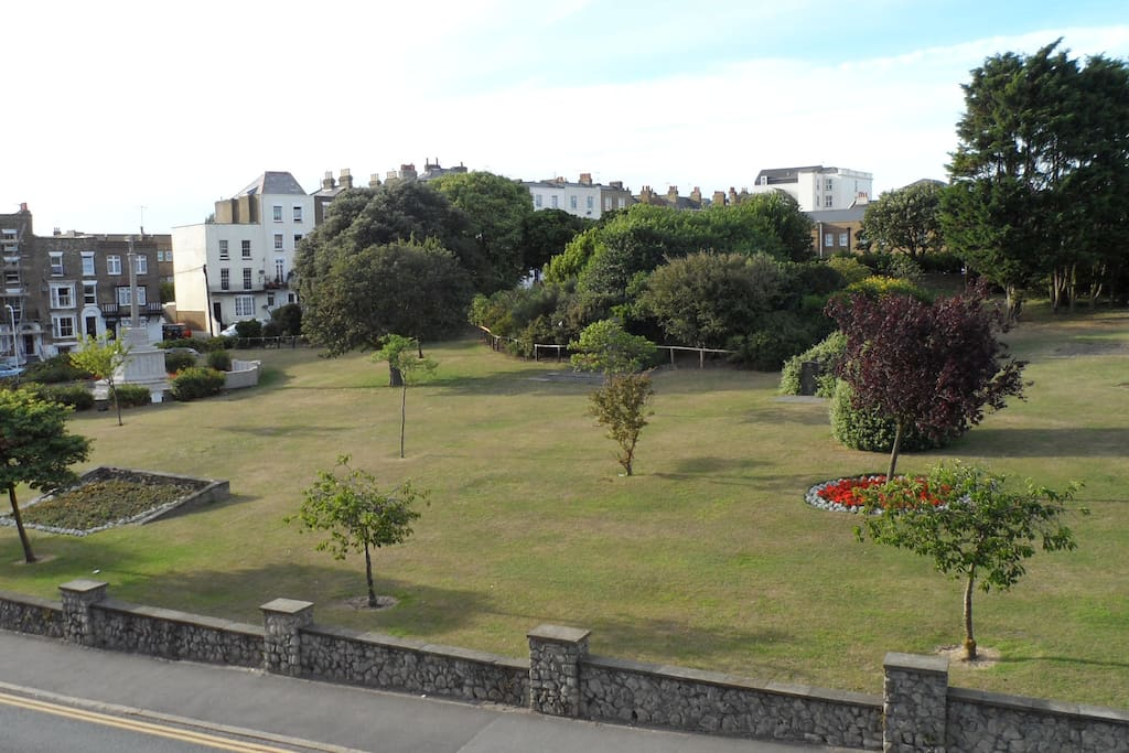 The memorial gardens, Margate