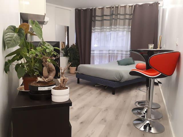 Studio neuf cosy au cœur du 15e