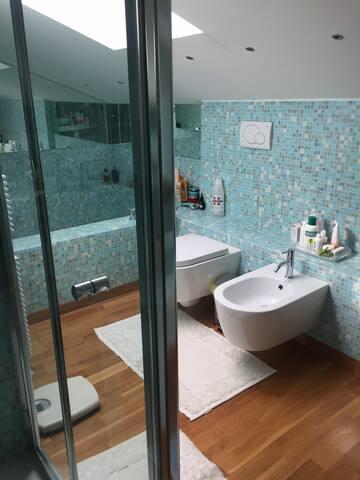 Stanza con bagno ed con aria condizionata autonoma