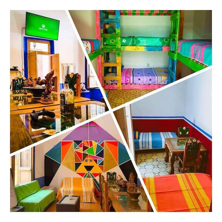Casa Tatewari/alojamiento tipo hostal hab.compart