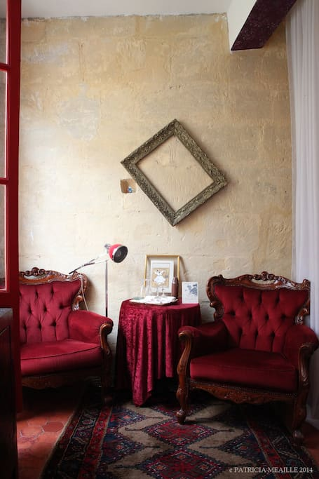 L'Aubergine Rouge, gay friendly B&B