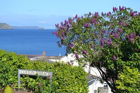 Portscatho Home,  havutsikt og SW kyststi