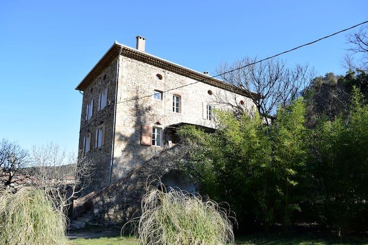 Chambre  entre Alès et Galeizon - Cendras - House