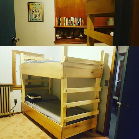 Hostel Style Lodging - Private Room bunk bed