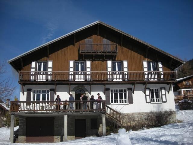 grand chalet familial à la montagne - Les Contamines-Montjoie - Casa