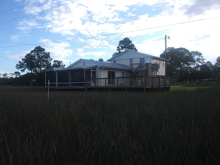 "Enjoy Florida's Nature Coast at ""The Marsh House"""