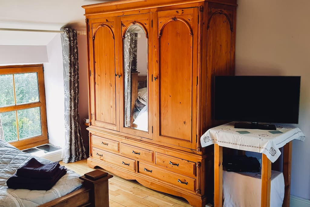 Bedroom 1: large wardrobe & drawers