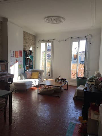 Family calm flat in the busy area! - Marseille - Appartement