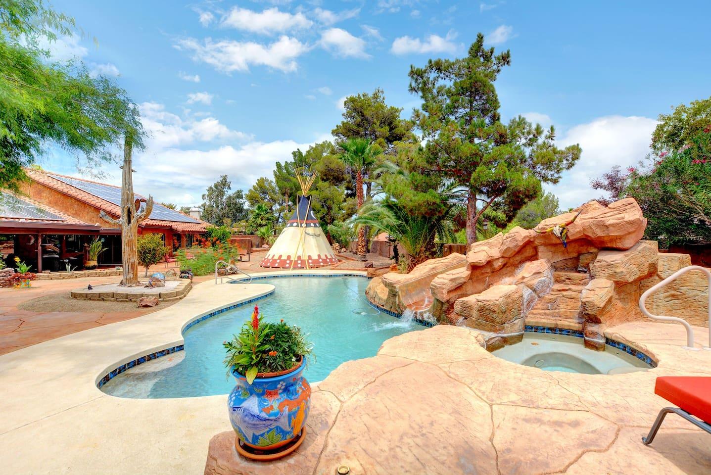 Luxury Henderson Airbnb rental in Las Vegas area
