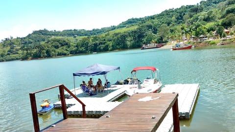 Um Pedaço do Paraíso no Lago Azul - Itá - SC