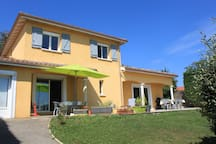 Nice 10 peoples Villa between Lyon and Beaujolais