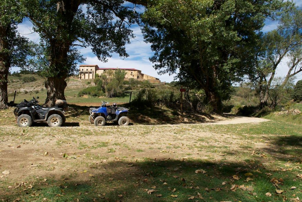 Rutas guiadas en quad y buggy