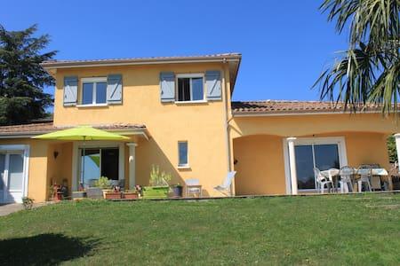 Belle villa entre Lyon & Beaujolais - Fleurieux-sur-l'Arbresle - Maison