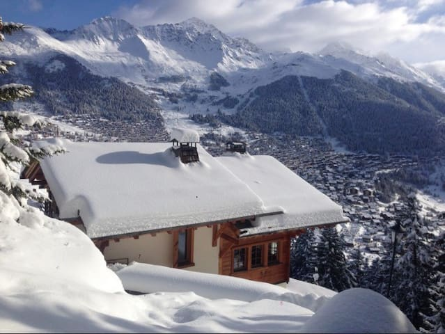 AMAZING SECLUDED CHALET VERBIER - Verbier - Haus