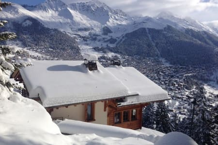 Secluded Chalet above Verbier - Verbier - Rumah