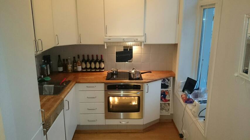 Best location - 4 beds/wifi/washer - Oslo - Apartment