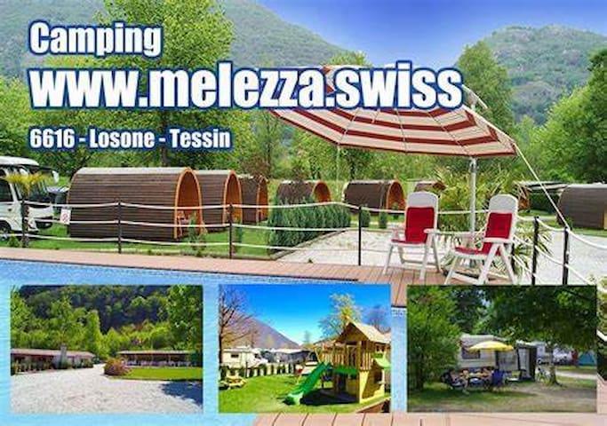 Camping Melezza POD House