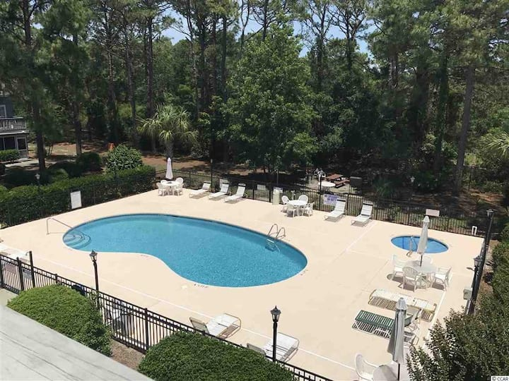 2 miles to the beach and remodeled! Golf Colony 2H