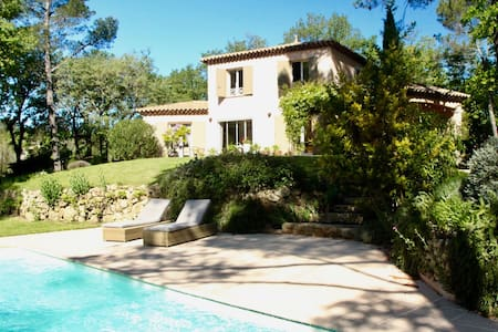 Charming property with pool    - Néoules - Loma-asunto