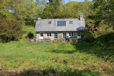 Secluded cottage set in 30 acres - Maentwrog - Casa