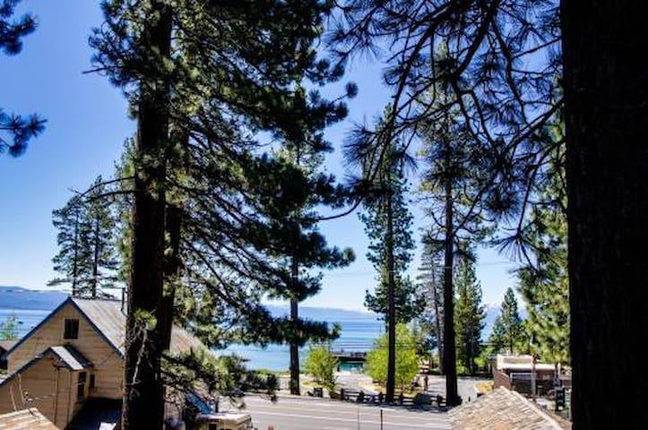 Tahoe Vista Lake Tahoe Cabin  - Tahoe Vista - Cabane