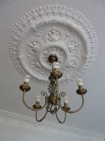 Rose ceiling