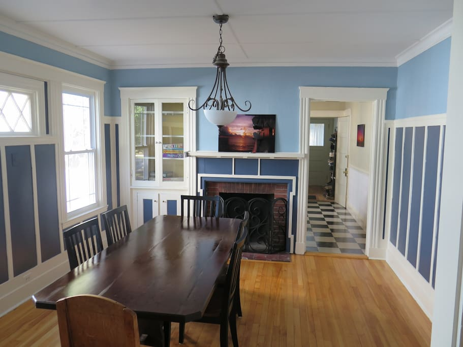 Large, comfortable dining area