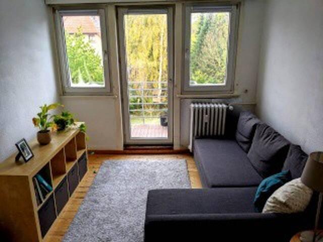 Gemütliche, helle Wohnung mit Garten im Ostviertel