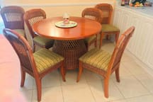Hawai'i Style Dining Table seats up to 6