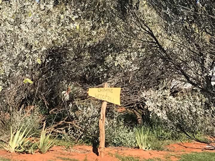 The Chiming Wedgebill Camp/Van Site