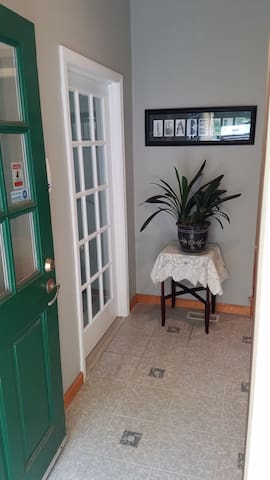 Vestibule in the entryway