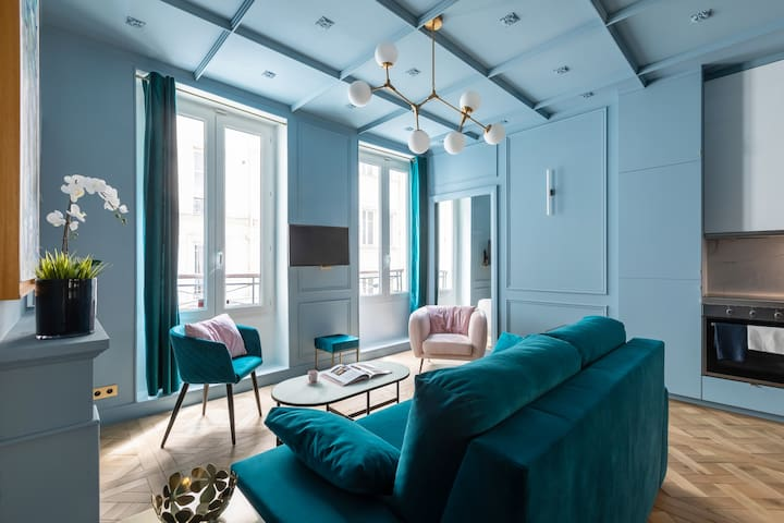 Stunning Luxurious Apartment 4P - Le Marais