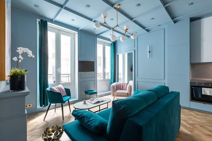 Stunning Luxurious Apartment 4P - Le Marais
