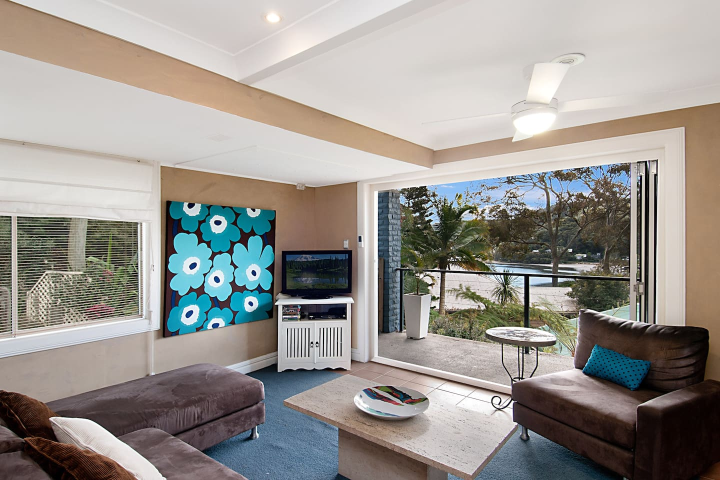 Bring the outside in with fully opening tri-fold doors going on to your own private verandah.