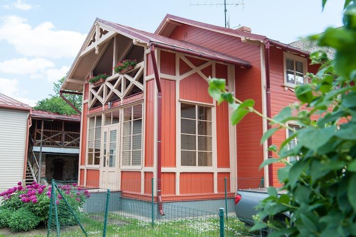 Center Orange house