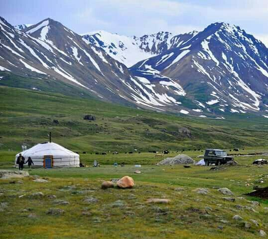 Yurt in the Wilds of Mongolia - Khushuut