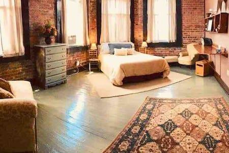 Hoover Suite Bedroom #1