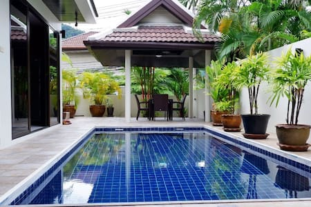 Best 3bedroom pool villa in Phuket15min to Patong