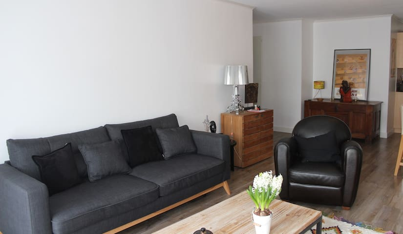 Comfy flat between lake and moutain - Gex - Apartment