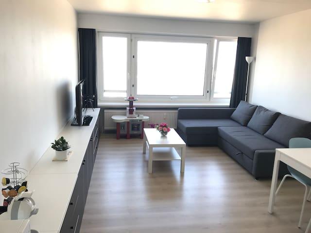 Moderne studio met fantastisch zicht!