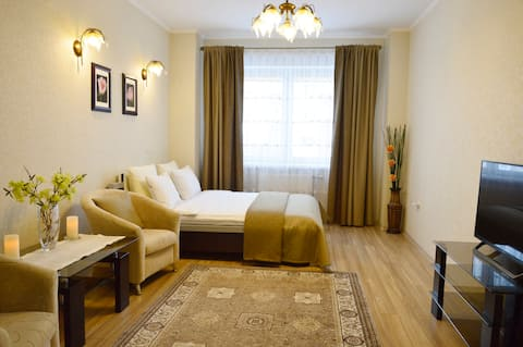 1-bedroom Apartment in Elite Building by The Park