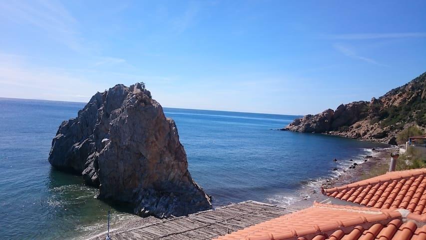 Townhouse 3km from the beach - Palaiochori - Hus